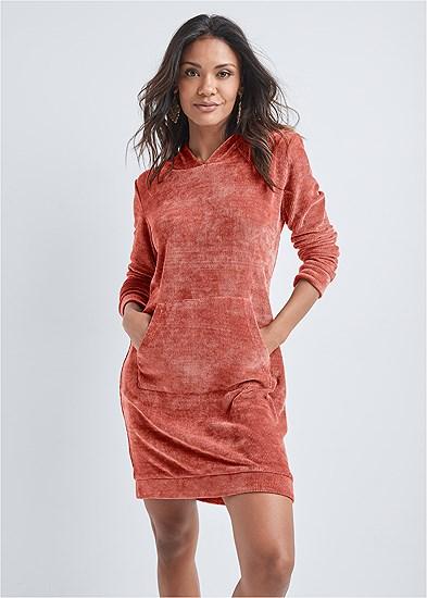 Chenille Lounge Dress