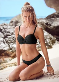 Full front view Summer Breeze Bandeau Top