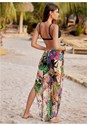 Back View Wild Tropic Cover-Up Pant