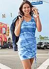 Alternate View Tie Dye Lounge Tank Dress