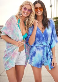 Alternate View Casual Tie Dye Romper