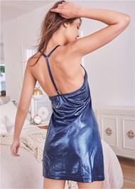 Full back view Sleek Sleep Dress
