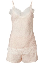 Ghost with background  view Silky Lace Sleep Set