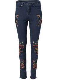 Alternate View Floral Skinny Jeans