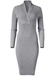 Alternate View Midi Sweater Dress