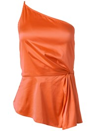 Ghost with background  view One Shoulder Satin Top