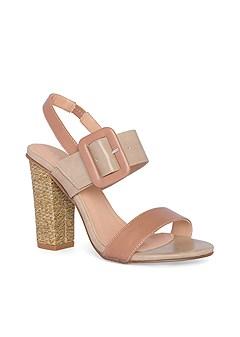 buckle detail heels
