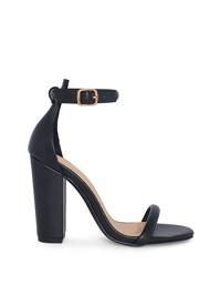 Shoe series side view Block Heels