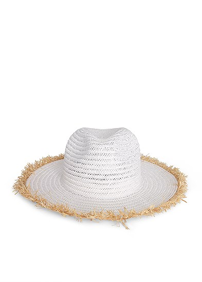 Color Block Straw Hat