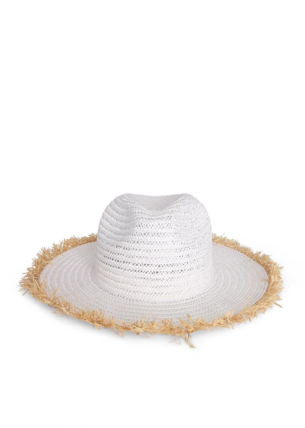Color Block Straw Hat,Easy Halter Top