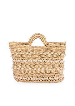 woven beaded clutch