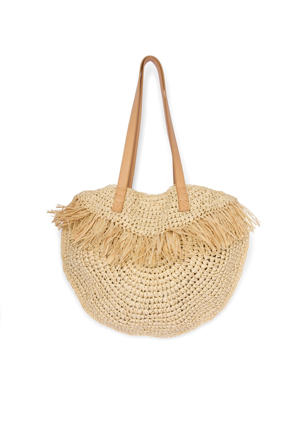 Straw Bag,Embellished Linen Dress
