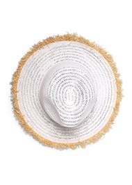 Detail  view Color Block Straw Hat
