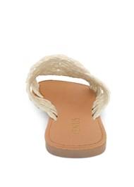 Shoe series back view Crochet Sandals
