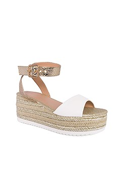 metallic platform wedges