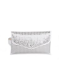 Flatshot front view Studded Belt Bag