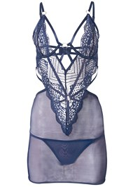 Ghost with background  view Strappy Sexy Chemise