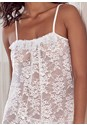 Detail front view Sheer Chemise