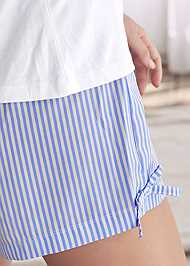 Alternate View Stripe Short Set