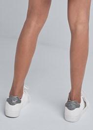 Alternate View Embellished Striped Sneaker
