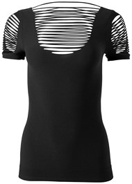 Alternate View Seamless Cut Out Top