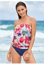 Full front view Blouson Tankini Top