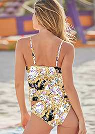 Full back view Elegant Beauty Tankini