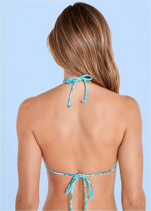 Alternate View Triangle String Bikini Top