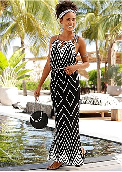 casual maxi cover-up