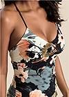 Detail  view Floral Maxi Dress