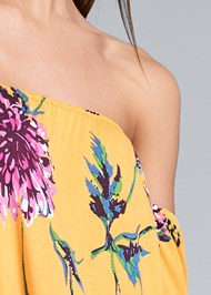 Alternate View Bold Floral Printed Top