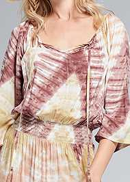 Alternate View Batik Print Dress