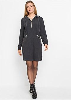 hooded lounge dress