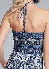 Alternate View Paisley Halter Jumpsuit
