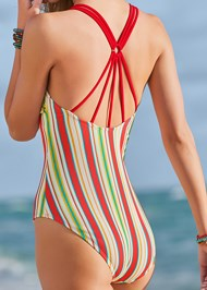 Detail back view Rincon Rib One-Piece