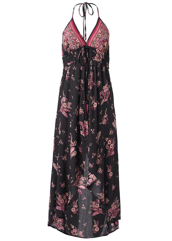 Ghost with background  view Floral Printed Romper