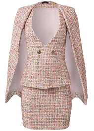 Ghost with background  view Tweed Skirt Suiting Set