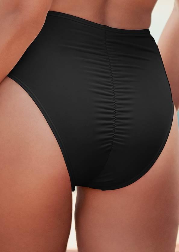Alternate View Slimming Chic High Waist Bottom