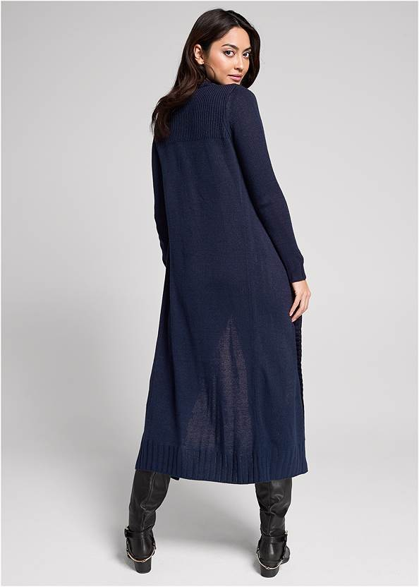 Back View Tab Button Detail Duster