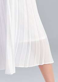 Detail back view Pleated Pants