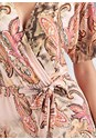 Detail front view Printed Romper