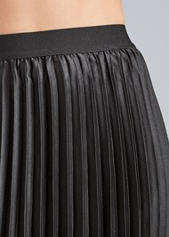 Detail front view Pleated Mini Skirt
