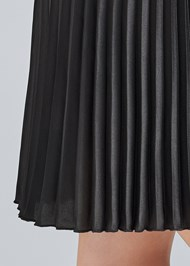 Detail side view Pleated Mini Skirt