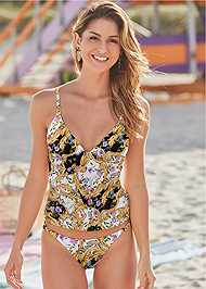Full front view Elegant Beauty Tankini