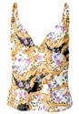 Ghost with background  view Elegant Beauty Tankini