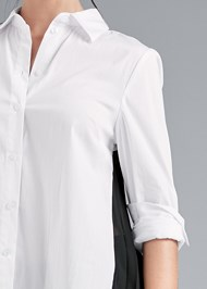 Detail front view Pleated Blouse