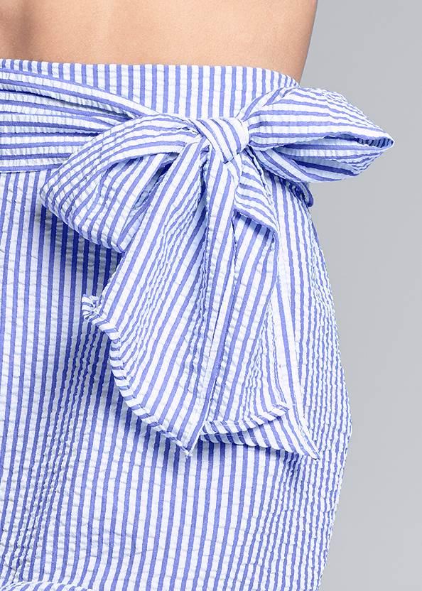Alternate View Stripe Seersucker Skirt