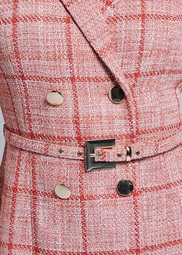 Alternate View Tweed Coat Dress