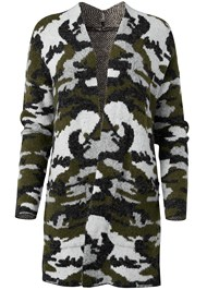 Alternate View Camo Print Coatigan