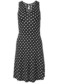 Alternate View Polka Dot Casual Dress